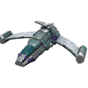 3D scout ship