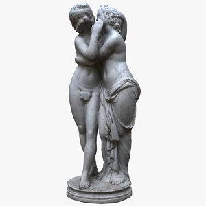 amor pyche 3D model