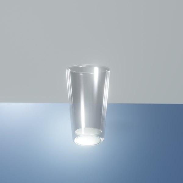 3D simple glass shot
