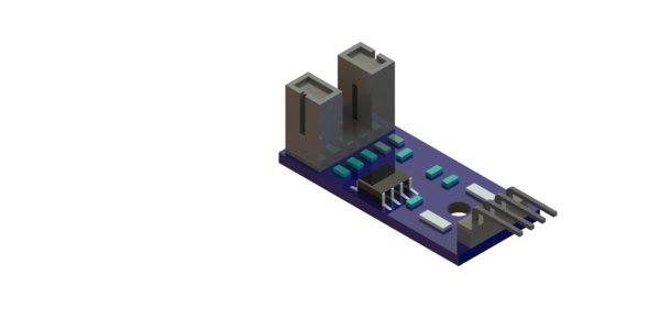 3D lm393 motor speed