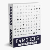 114 models Indoor + Outdoor Architect Lighting Colletion