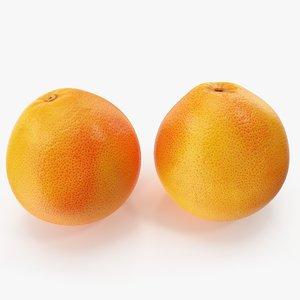 grapefruit 01-02 3D model