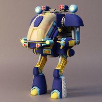 3D robot mech