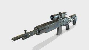 3D m14 ebr model