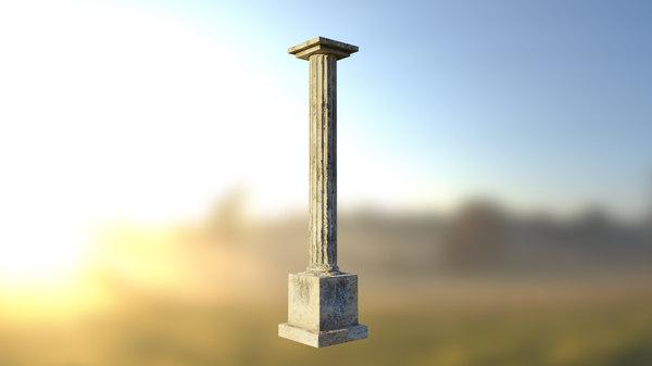 column asset pbr model