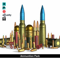 ammunition pack model