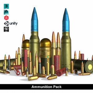 ammunition pack model