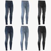 men women jeans model