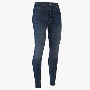 women jeans 3D