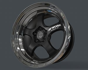 3D rim meister work wheels