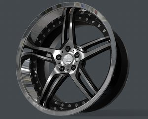 rim durandal work wheels 3D model