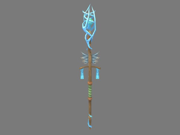 3D aquatic staff