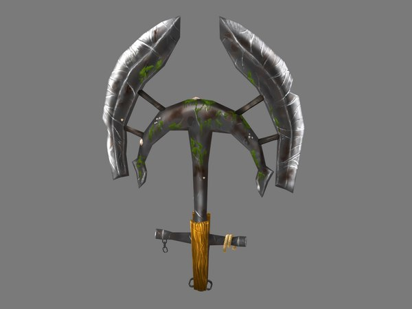 anchor axe 3D model