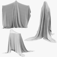 real ghosts poses 3D model