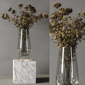echasse vase 02 3D model
