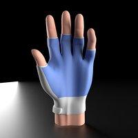 3D hand glove model