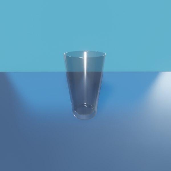 cooler glass 3D model