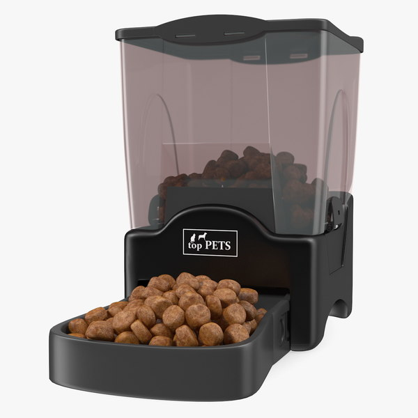 3D automatic pet feeder dry model