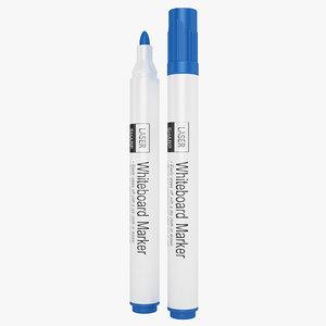 lasersharp whiteboard markers 3D