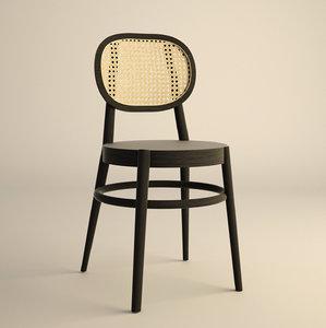 inspired hk-living wooden chairs model