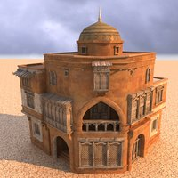 3D arabian house