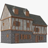real house 3D model