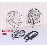 3D conceptual architectural trees