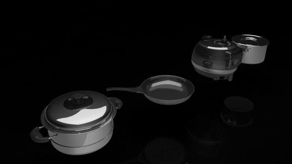3D kitchenutensils kitchen