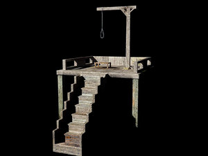 gallows wild west model