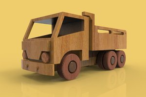 truck vehicle 3D model