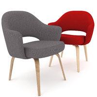 3D saarinen chair fabric