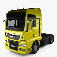 MAN TGX Tractor Truck 2-axle with HQ interior 2012