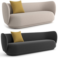 Rico Sofa 3 and 4 by seater by ferm Living