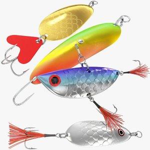 fishing v4 3D model