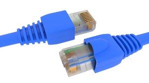 rj45 connector 3D model