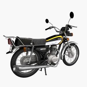honda bike 3D model