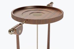 3D model console foucault pendulum
