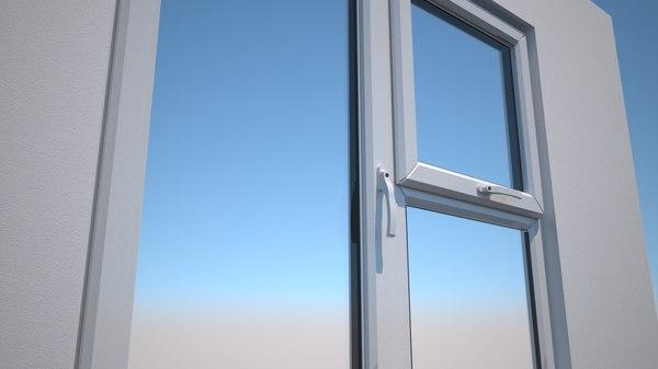 3D double glazed windows