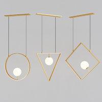geometry pendant lamp