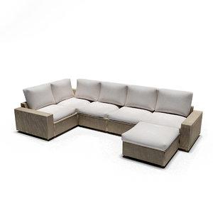 3D design solleron sofa