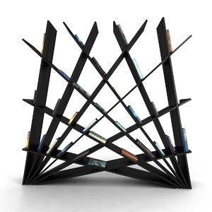 shelf unit italcollections cheft 3D