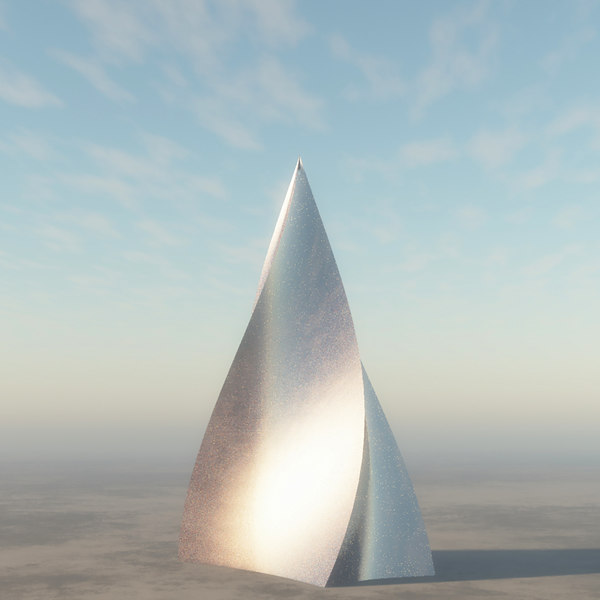 3D model spire building