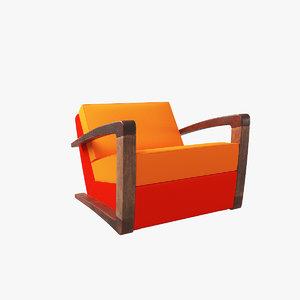 chair v23 3D model