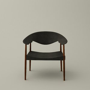 metropolitan chair 3D model