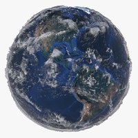 relief earth 21k world model