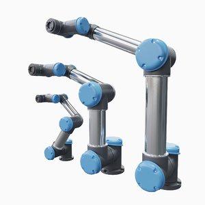 3D universal robots 3 size