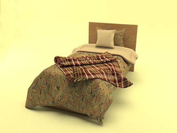 interior bed malm model