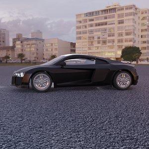 3D car luxury-car
