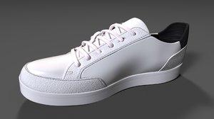 sneaker leather men 3D model