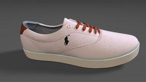 3D sneaker polo mens